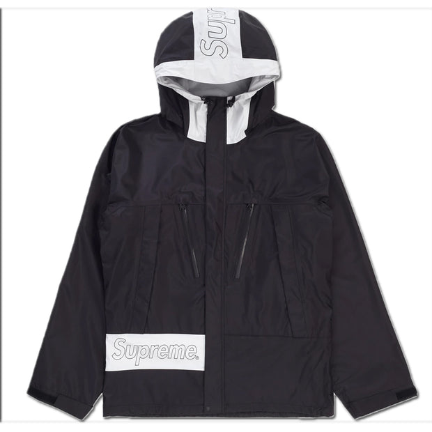Supreme Taped Seam Jacket Mens Style : Ss19j22-BLACK