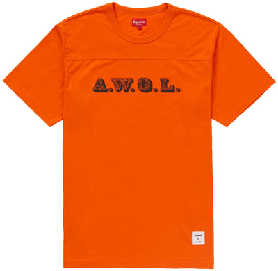 Supreme Awol Football Top Mens Style : Ss19kn78