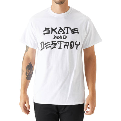 Thrasher Skate And Destroy T-shirt Mens Style : 110103