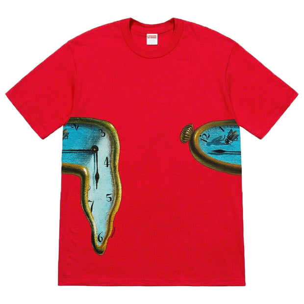 Supreme The Persistence Of Memory Tee Mens Style : Ss19t10