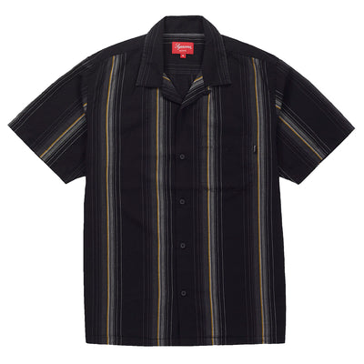 Supreme Vertical Stripe S/s Shirt Mens Style : Ss19s4