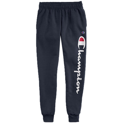 Champion Classic Jersey Joggers, Vertical Script Logo Mens Style : Gp08h