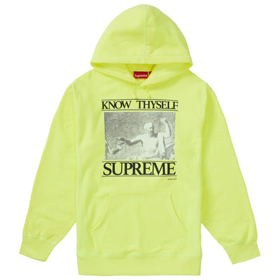 Supreme Know Thyself Hooded Sweatshirt Mens Style : Ss19sw85