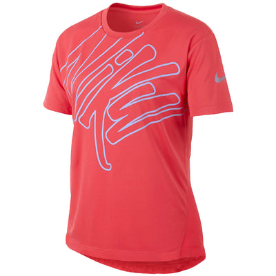 Nike Girl's Spring Dry Graphic Top Big Kids Style : Aq9155