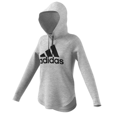 Adidas Athletics Must Haves Badge Of Sport Hoodie Womens Style : Du0016