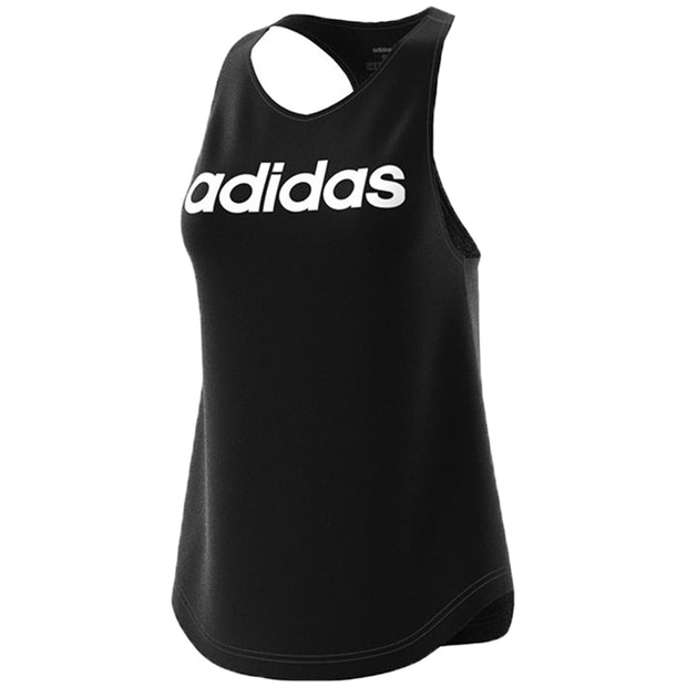 Adidas Training Essentials Linear Tank Top Womens Style : Du7003