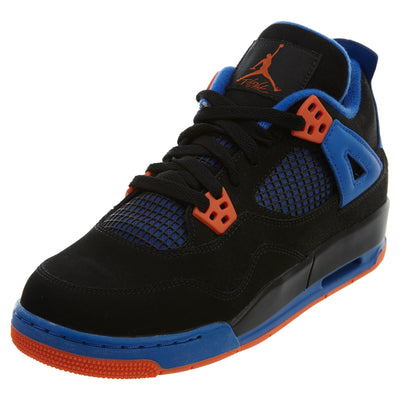 "Air Jordan 4 Retro (gs) ""cavs"" - black Boys / Girls Style :408452"