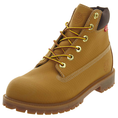 TIMBERLAND 6IN PREM WP BT  BIG KIDS STYLE # 6596R