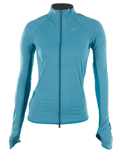 Nike Element Shield Heathered Running Jacket Womens Style # 444912