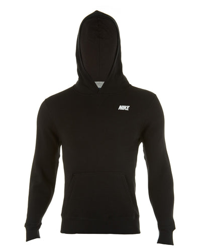 Nike Knitted Black Sweatshirt Hoodie BIG KIDSstyle # 578483