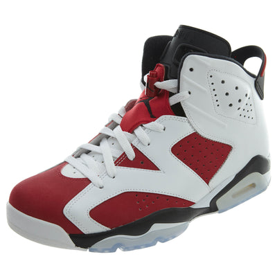 "Air Jordan 6 Retro ""carmine"" - white Mens Style :384664"