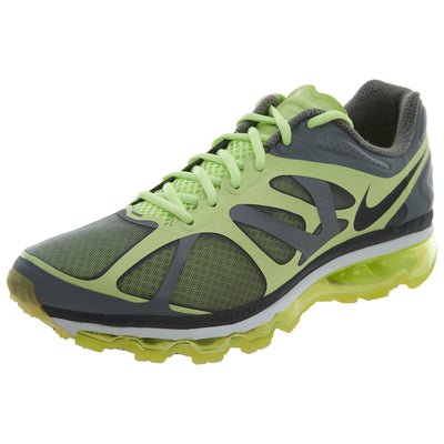 Nike Air Max 2012 Grey Green Running Womens Style :487679