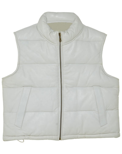 Hudson Leather Vest Womens Style : D101