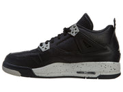 "Air Jordan 4 Retro Bg (gs) ""oreo"" - black Boys / Girls Style :408452"