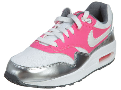 Nike Air Max 1 (GS) Girls Running Shoes Cool Grey Boys / Girls Style :653653