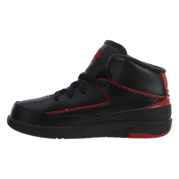 Jordan 2 Retro BT Toddler's Shoes Black/Varsity Red Boys / Girls Style :395720