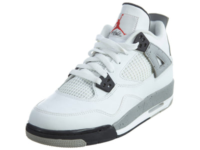 Air Jordan 4 Retro OG BG hi top Trainers Boys / Girls Style :836016