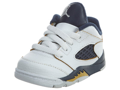 Air Jordan 5 Retro Low TD Dunk From Above White/Gold  Boys / Girls Style :314340