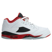 "Air Jordan 5 Retro Low (gs) ""fire Red"" Boys / Girls Style :314338"