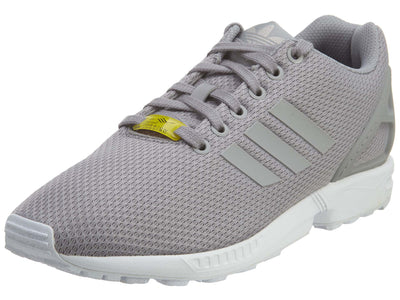 Adidas ZX Flux Aluminum White Mesh Athletic Mens Style :M19838