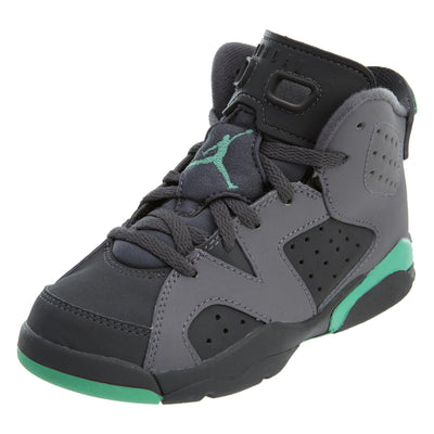 Jordan 6 Retro Little Kids Cement Grey Green Glow Boys / Girls Style :543389