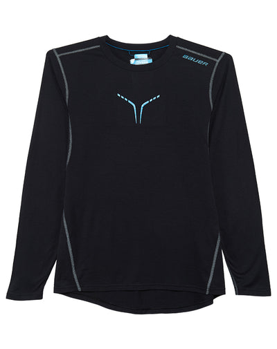 Bauer Core Longsleeve Creweck T-shirt Mens Style : 1039200