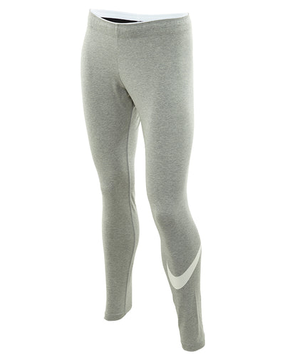 Nike Solid Cotton Blend Leggin Womens Style : 830337