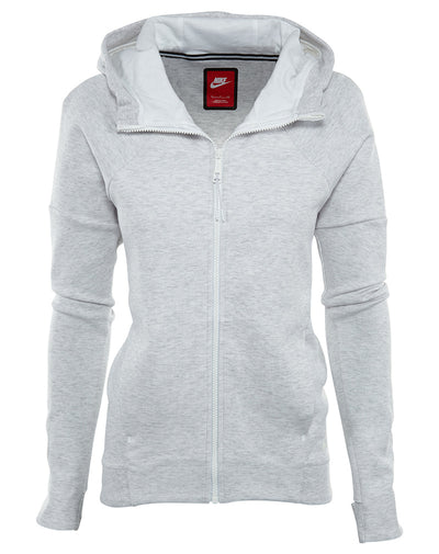 Nike Tech Fleece Full Zip Hoodie Womens Style : 806329