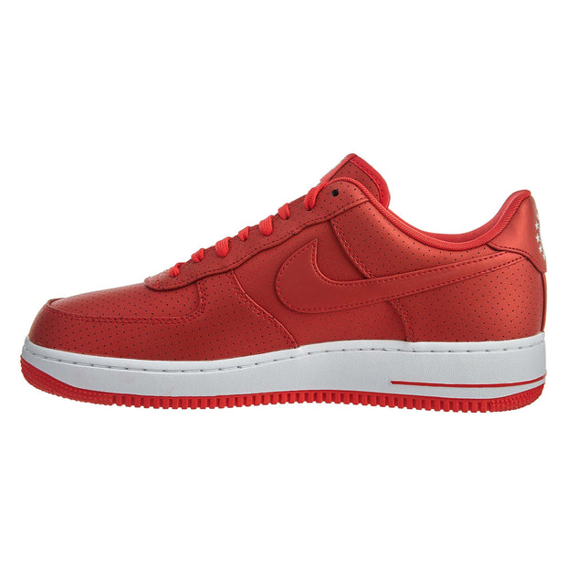 Nike Air Force 1 Low 07' Lv8 Action Red White  Mens Style :718152