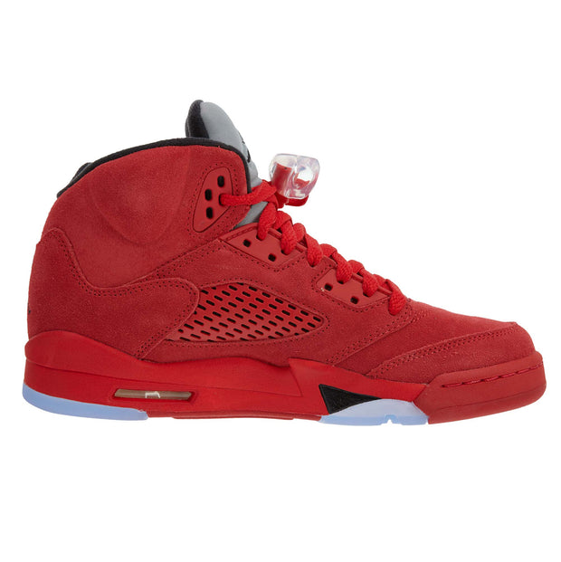 "Air Jordan 5 Retro Bg (gs) ""red Suede""  Boys / Girls Style :440888"
