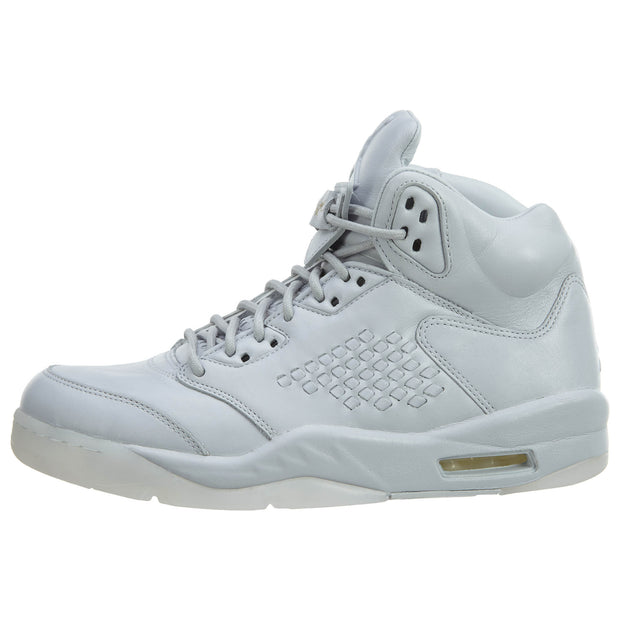 "Air Jordan 5 Retro Prem ""Pure Platinum"" Mens Style :881432"