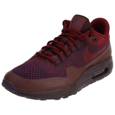 Nike Air Max 1 Ultra Flyknit - grand purple/team red Mens Style :856958