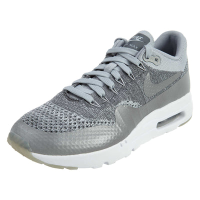 Nike Air Max 1 Ultra Flyknit Grey Reflective  Mens Style :843384