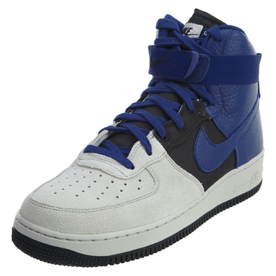 Nike Air Force 1 High '07 Lv8 Platinum Royal Mens Style :806403