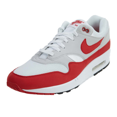 Nike Air Max 1 Anniversary - white/university red Mens Style :908375
