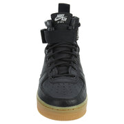 Nike SF Air Force 1 Mid Black Gum Light Brown Womens Style :AA3966