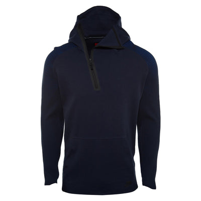 Nike Sportswear Tech Fleece Half Zip Hoodie  Mens Style : 805655