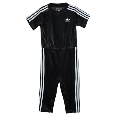Adidas Infant Velour Jumpsuit Toddlers Style : Bq4446