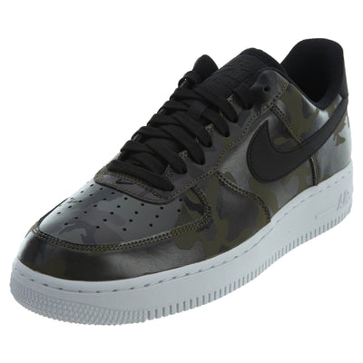 "Nike Air Force 1 07 Lv8 ""camo"" - medium olive/black Mens Style :823511"