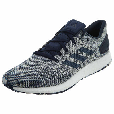 Adidas Pure Boost DPR Night Indigo White Knit Mens Style :S80733