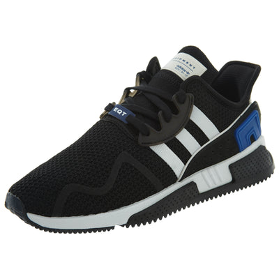Adidas EQT Cushion ADV Black White Royal Mens Style :CQ2374