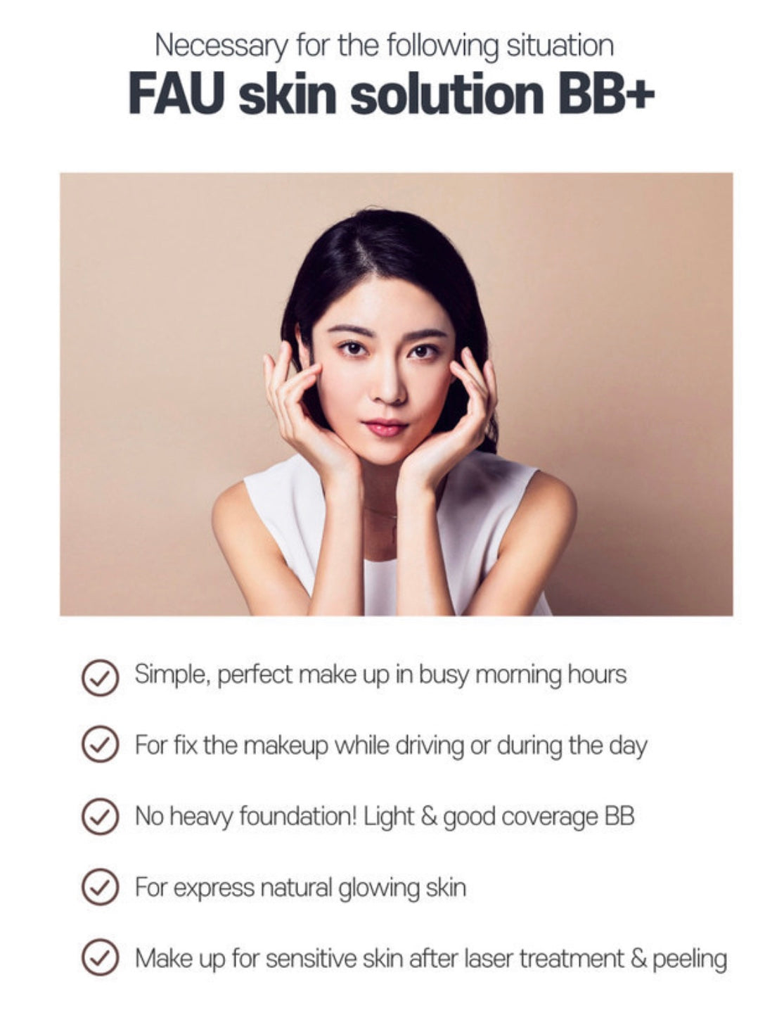 Benefits of FAU Skin Solution BB Plus
