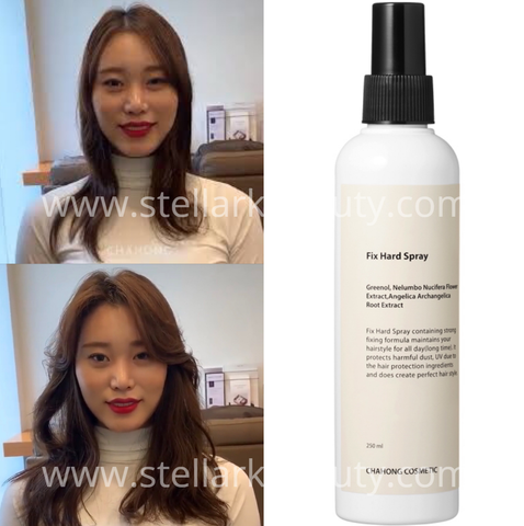 Chahong Fix Volume Spray - Before and After