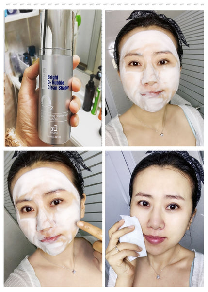 Bright O2 Bubble Clean Shaper - Korean beauty product