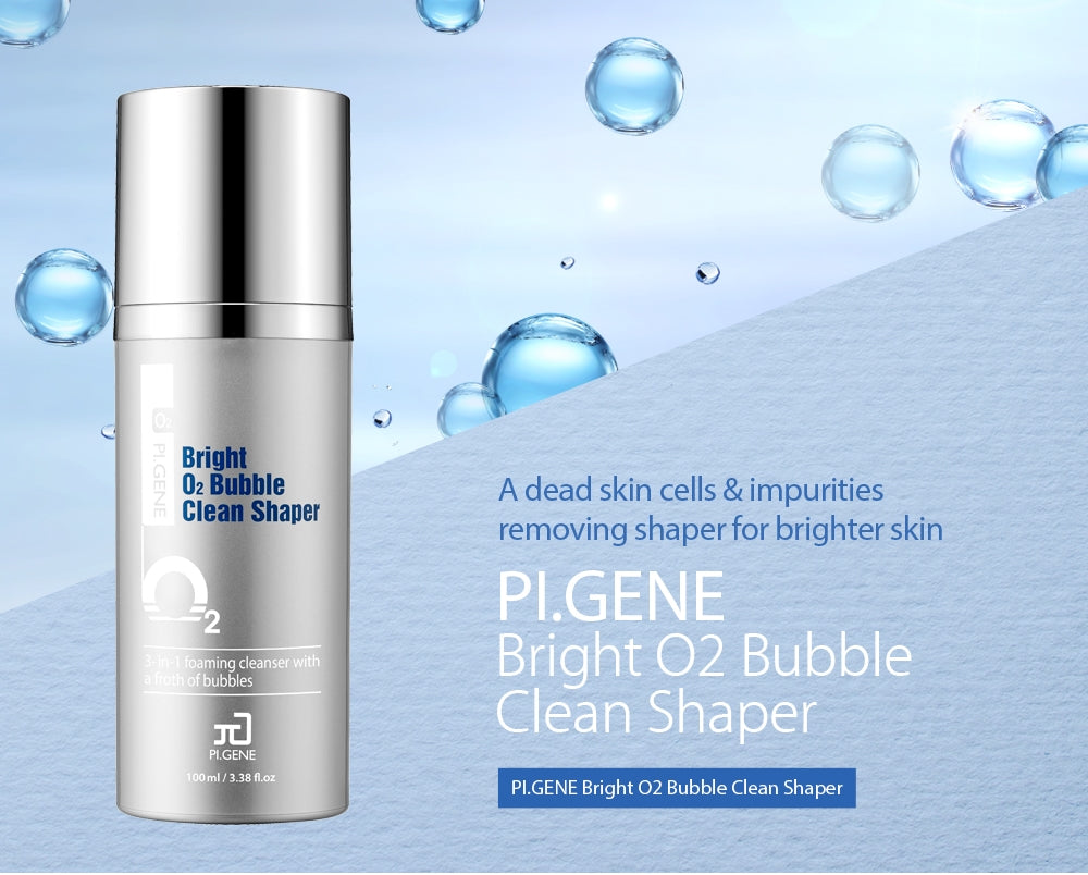 Bright O2 Bubble Clean Shaper bottle - Korean beauty product