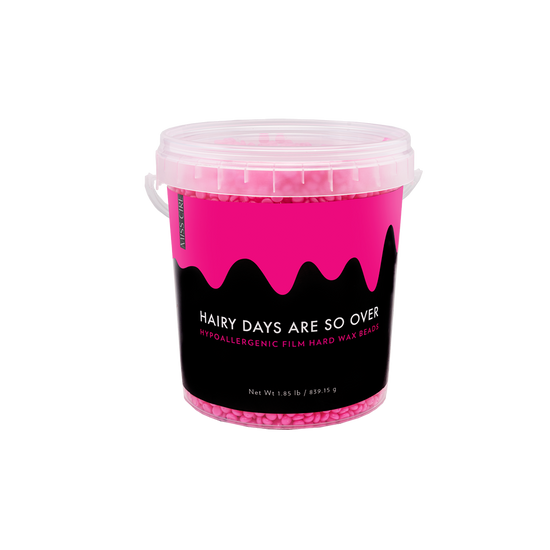 Hairy Days Are So Over Hot Pink Hypoallergenic Film Hard Wax Beads - 1.85 LB