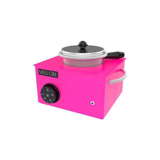 Small Hard-Soft Wax Neon Hot Pink Wax Warmer - 14 Oz