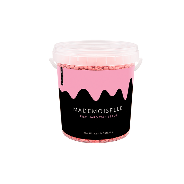 Mademoiselle Pink Polymer-Based Film Hard Wax Beads - 1.85 LB (BULK)