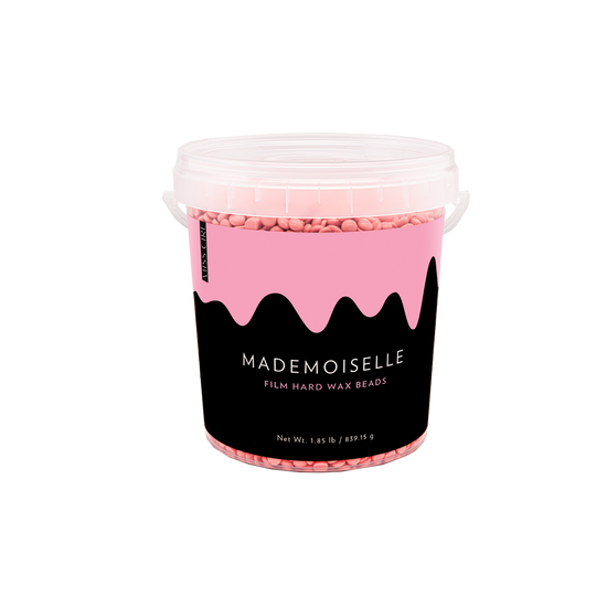 Mademoiselle Pink Polymer-Based Film Hard Wax Beads - 1.85 LB