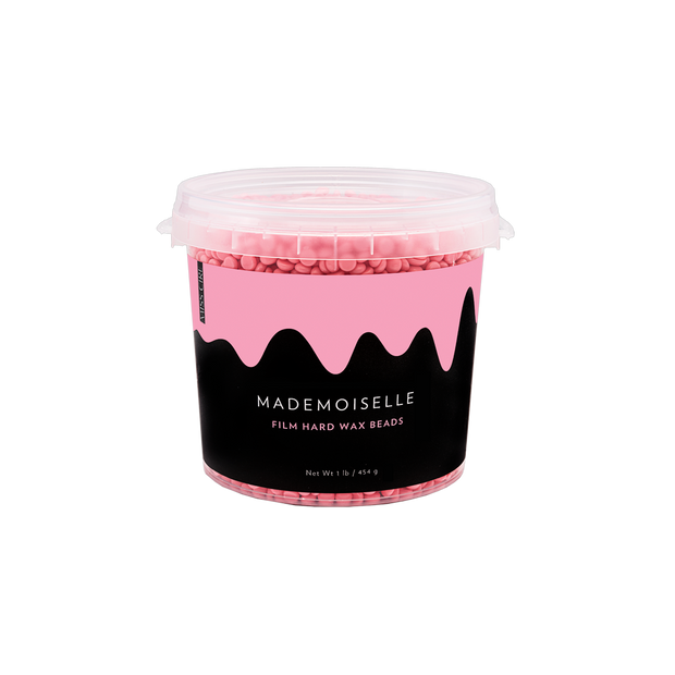 Mademoiselle Pink Polymer-Based Film Hard Wax Beads - 1 Lb
